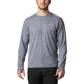 Columbia Tech Trail II Long Sleeve Crew Shirt Men, collegiate navy heather